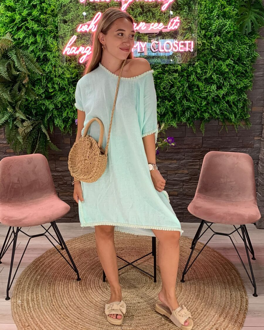 Beach Dress Mint-0
