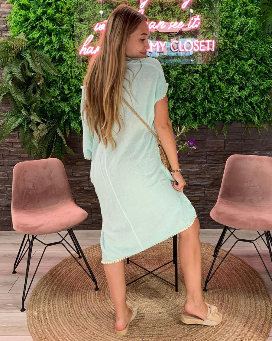 Beach Dress Mint-4914