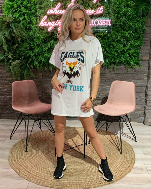 Eagles Teedress White-0