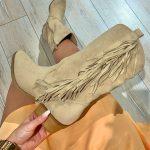Cowboy Boots Khaki Suede-0