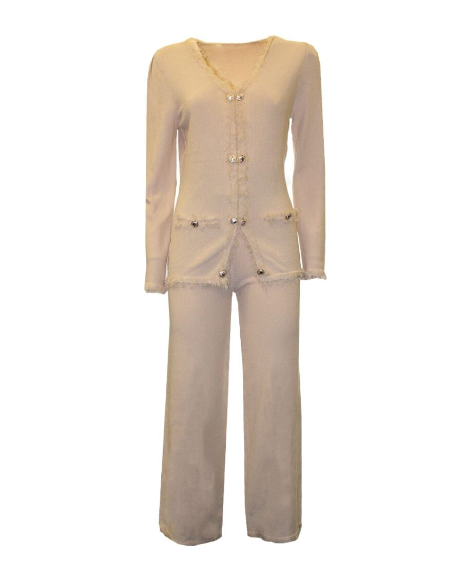 Two Piece Suit Nude-5439