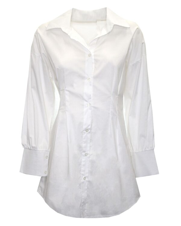 Fitted Blouse White-0