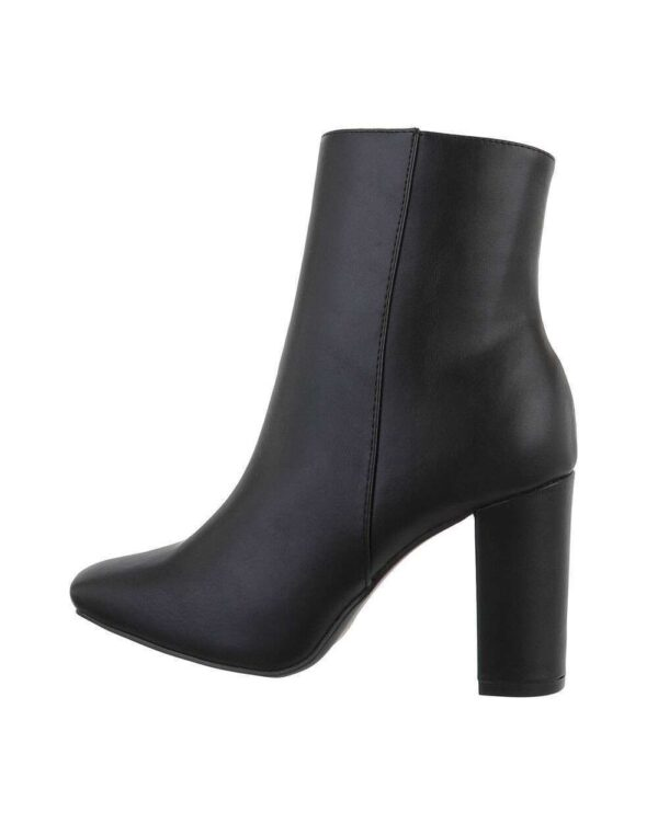 Desiree Black Ankle Boots-0