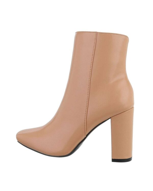 Desiree Nude Ankle Boots-0