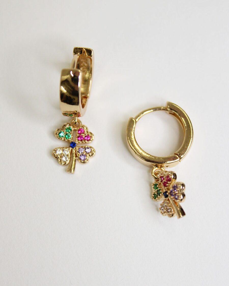 Earrings Lotus-5777