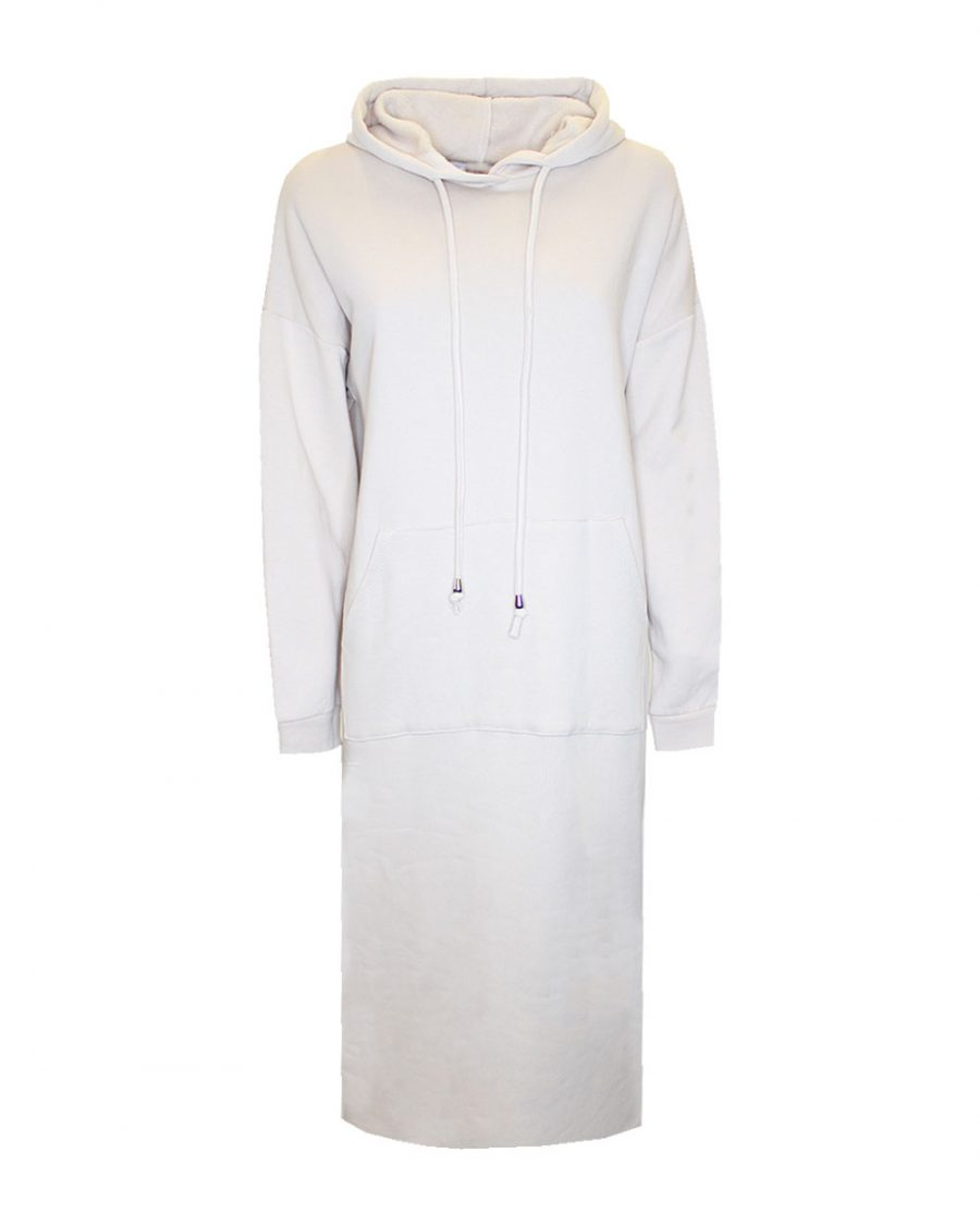 Hoody Dress Nikkie Beige -0