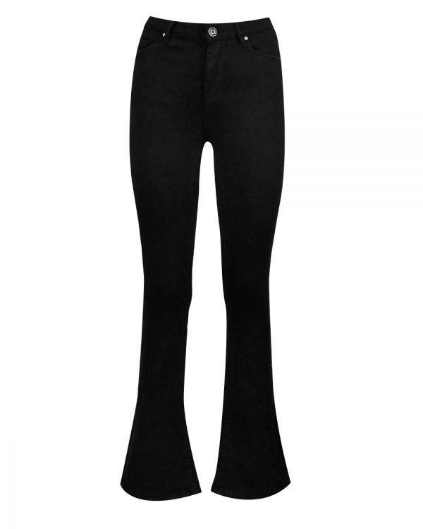 Flare Jeans Black -0