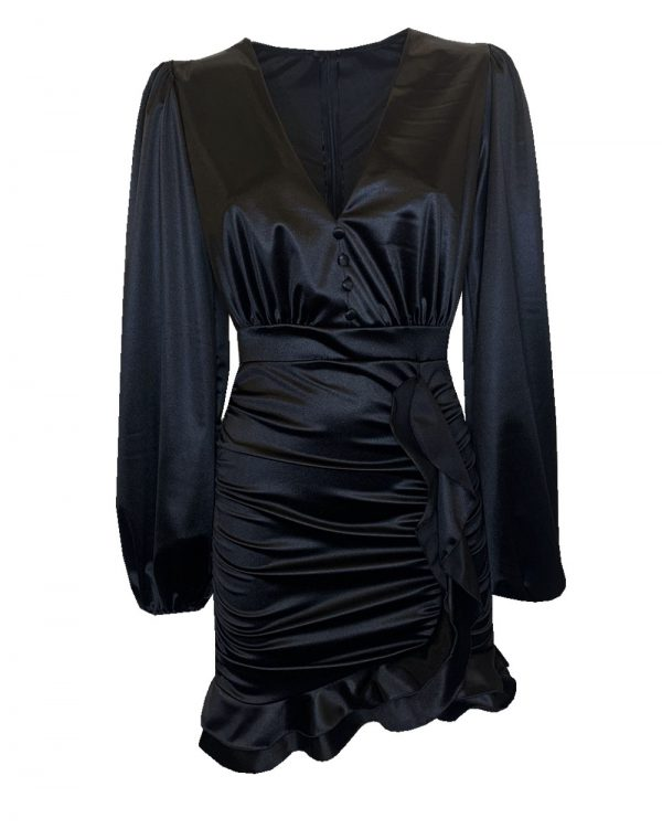 Hailey Dress Black-0