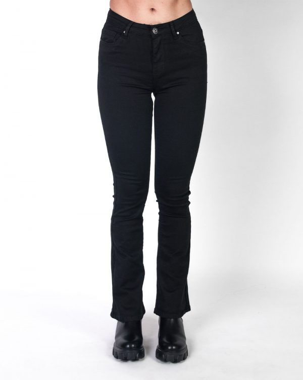 Flare Jeans Black -6255